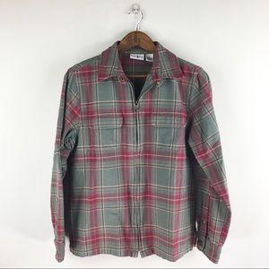 5/$28 Duck Head Plaid shirt/sweater
